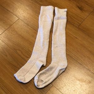 NWOT American eagle outfitters ballet pink socks